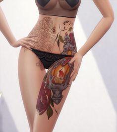 MrozaSims - Tattoo Alrosa Female