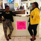 F&F Style: Crystal and I at 'Girl's Night Out-Lenox'