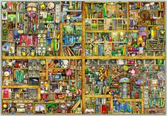 Colin Thompson - Jigsaw Puzzles. I love this artist's prints and the puzzles they are made into, as do the rest of the family.