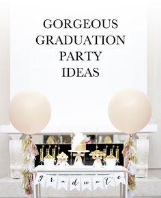 graduation party ideas | via KristiMurphy.com