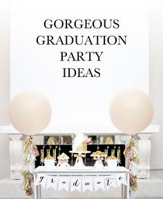graduation party ideas | via KristiMurphy.com
