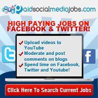 Paid Social Media Jobs by Annie Jones Facebook Jobs, Twitter Jobs, Like Facebook, Account Facebook, Facebook Instagram, Online Income, Earn Money Online, Online Jobs, Online Earning