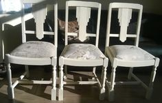 A collection of different pre-loved furniture brought back to life with a little love, some imagination and a lot of hard work. Custom Furniture, Painted Furniture, Shabby Chic Chairs, Drum Table, Buy Lego, Home Collections, Chalk Paint, Dining Chairs, Bedroom