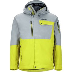 Marmot Diversion Jacket Citronelle/Grey Storm S