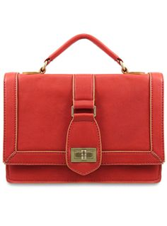 Edith Top Handle Framed Bag from Melie Bianco -- another cross-body bag and the Sienna and the Black both look great!
