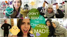 CRAZY CHICKENS & HAT FASHION SHOW! and welcome back Eric (14 April 2015