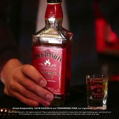 It's the weekend. Jack Fire's out and the heat is on. #JackFire #Cinnamon #Shot