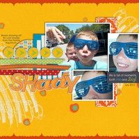 Gallery Projects - Scrapbooking - Two Peas in a Bucket by Tracyfish