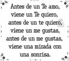 Antes de un te amo ...................