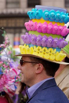Peeps Galore! NYC Easter Parade 2012