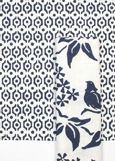 Custom Links and Birds Silhouette - Go Navy | Galbraith & Paul
