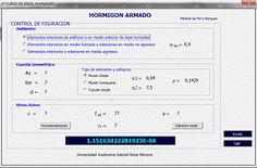 Control de fisuración en elementos de Concreto armado http://ht.ly/CiRLa  #Isoluciones #PlanillasExcel