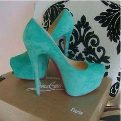 Tiffany Blue Heels but I like the chair