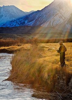 It's all about the light, Jack is learning.  This is also along that Owens River, CA