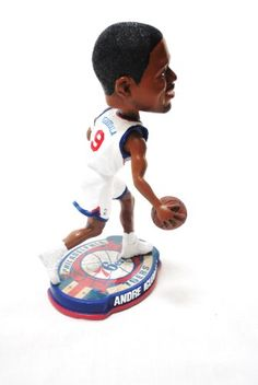 Philadelphia 76ers Andre Iguodala 2012 Official NBA  9 Hm Jersey action  Retro Base Bobble Head 8b2a5df1b
