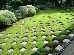 東福寺 方丈庭園 《小市松の庭》 1939年