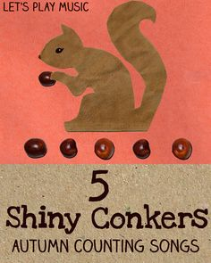Time to go for an Autumn walk & come back with your pockets stuffed with conkers! Just what you need for our Five Shiny Conker song! - Let's Play Music