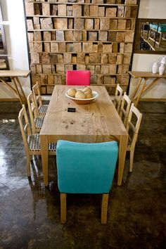 The new Pierre Cronje showroom in Johannesburg, South Africa. Fine Furniture, Furnitures, Showroom, South Africa, Beautiful Homes, Dining Table, Flooring, Wood, Ideas
