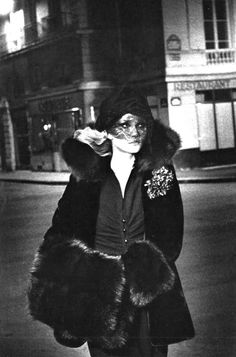 Anna Anderson by Helmut Newton for Vogue Paris, September 1974