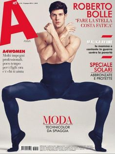 Roberto Bolle A cover