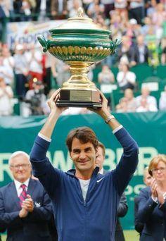 Roger Federer Halle 2014 Champion