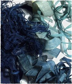 A wonderful variety of colors from indigo by Bloom. via Growing Indigo: March 2012