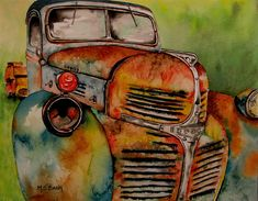 Blast From The Past Painting by Maria Barry - Blast From The Past Fine Art Prints and Posters for Sale