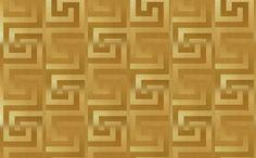 Intissé VERSACE GRECO coloris doré