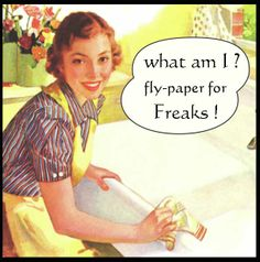 Fly-paper for freaks                                                                                                                                                                                 More