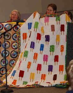 Popsicle Quilt - This one makes me smile.