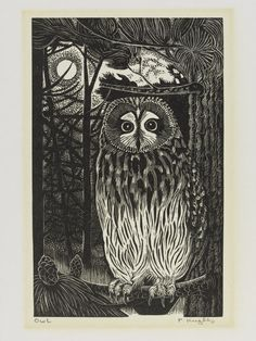 Wood engraving by Pamela Hugheshttp://collections.vam.ac.uk/item/O117044/print-hughes-pamela/