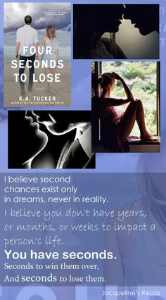 Four Seconds to Lose (Ten Tiny Breaths, #3) - K.A. Tucker, Jacqueline's Reads, Book Review, Love Quotes