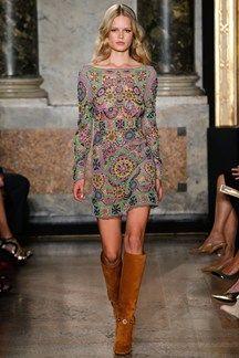 Designer Emilio Pucci at Milan Fashion Show, September 2014.