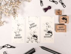 Happy Birthday, Starter Set, Gallery Wall, Frame, Diy, Home Decor, Stamping, Handarbeit, Ideas