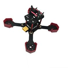 EMAX Nighthawk-X5 200MM Carbon Fiber FPV Racing Quadcopter Frame - Main features: PDB: Built-In 5V and 12V regulators supply ample amount of clean, filtered power to the electronics. ESC Signal pads allow clean and efficient builds with less wires to be in the way. Programmable RGB LEDs let user play with endless colors and features through the Flight Controller...
