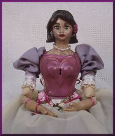 Key to my Heart doll for Valentine's Day with a low dollar starting bid!
