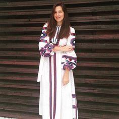 Vestido Bordado Fê Palazzo para Letícia Salvagni ! #bordado #sobmedida