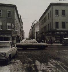 Damals in Wien Favoriten, Raaberbahngasse vor der Favoritenstraße 1962 Foto: Otto Simoner/ÖNZB Vienna, History, Vintage, Pictures, Remember This, Historia, Vintage Comics