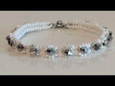 Herringbone Flat Bracelet Herringbone Wicker Bracelet Making (Ed . Seed Bead Jewelry, Diy Jewelry, Beaded Jewelry, Jewelery, Jewelry Bracelets, Jewelry Making, Handmade Bracelets, Handcrafted Jewelry, Herringbone Stitch