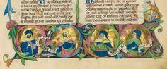 Deutsche Bibel, AT - UB Augsburg - Oettingen-Wallersteinsche Bibliothek Cod.I.3.2.III/IV. 2. Deutsche Bibel, AT, Band 2: Psalter - Maleachi - UB Augsburg Furtmeyr, Berthold Impressum [s.l.], 1468, ill. 1472 Folio: 3r