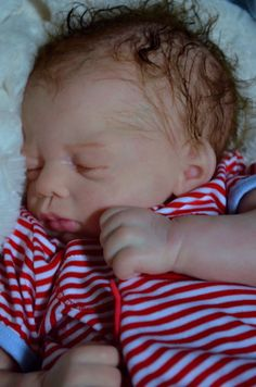 Mummelbaerchens Tavi, so cute Reborn Baby Boy, sculpt by Marita Winters, Ltd