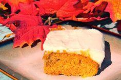 My Recipe Box: Paula Deen's Pumpkin Bars with Cream Cheese Frosting