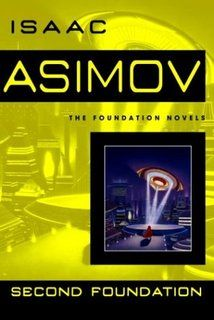 """Isaac Asimov's """"Second Foundation"""" as reviewed by Grace from Books Without any Pictures for the AWB Reading Challenge"""