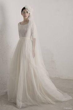 """"""" Cortana wedding dress from 2015 Bridal Collection """"La Mariée en Colère - Galerie d'inspiration, mariée, bride, mariage, wedding, robe mariée, wedding dress, white, blanc, robe de mariée"""