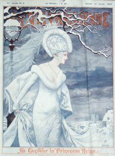 La Vie Parisienne, January 13, 1923 Cover by Herouard