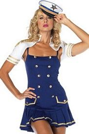 Ship Shape Captain Sailor Costume Set
