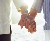 we don't realize what a privilege it is to grow old with someone <3