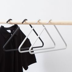 2 Triangle Hangers - Black - by roomsafari designed in Germay #MONOQI