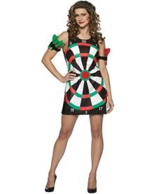 Dart Board Adult Womens Costume