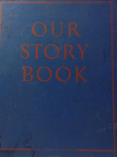 Vintage Our Story Book Teacher's Edition, 1940